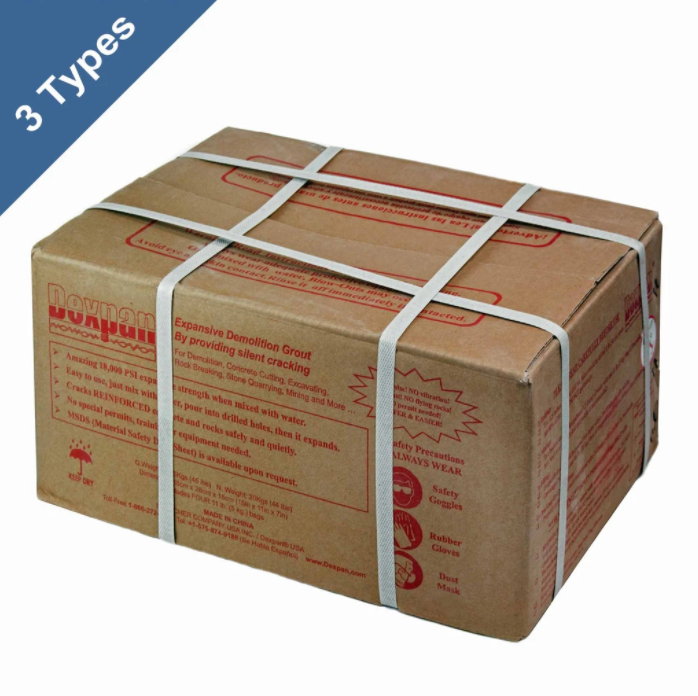 DEXPAN NON-EXPLOSIVE DEMOLITION GROUT (44 LB BOX)
